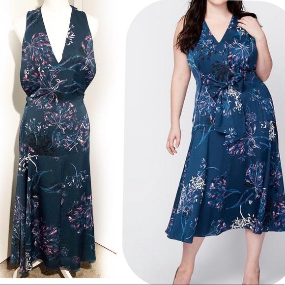 RACHEL Rachel Roy Dresses & Skirts - RACHEL ROY Indigo Blue/Hot pink dress